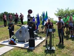 Kulturni nastop pevca Rika Majcna in harmonikaša Jerneja Piklja