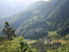 Pogled na dolino reke Save z Rugljuja