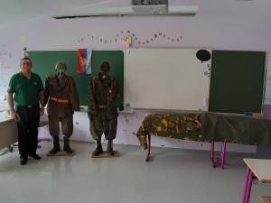 Veterani in osnovnošolci